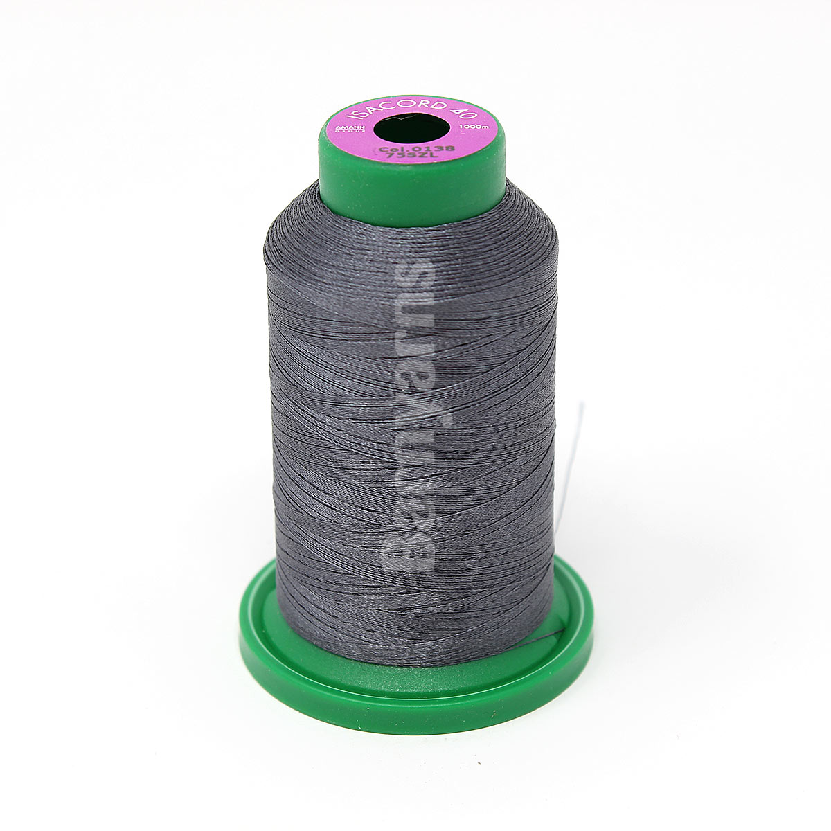 Machine Embroidery Sewing Thread 1000m Colour 4071 GLACIER GREY ISACORD 40