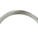Gutermann - Jewellery Wire 10m x 0.6mm - Silver Plated