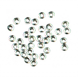 Gutermann - Crimp Beads Pack of 60 - Silver Plated