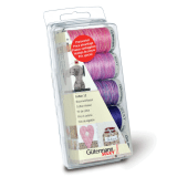 Gutermann Cotton 12 Box Set 5 Reels x 200m - Berry