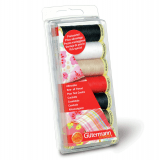 Gutermann Sewing Thread Set 7 x 100m - Assorted Colours