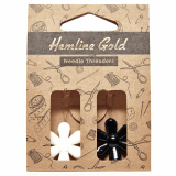 Hemline Gold Flower Needle Threader