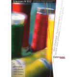 Gutermann - SEW ALL Sewing Thread Shadecard PRINTED VERSION