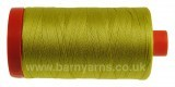 Aurifil 50 Colour 5015 1300m Golden Green