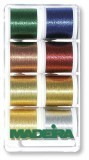 Madeira Small Gift Box 8 Reel x 200m - Metallic Classic