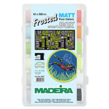 Madeira Smartbox 18 Reels x 500m Reels - Frosted Mat