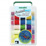 Madeira Thread Box Frosted Matt 40 - 40 x 500m Reels