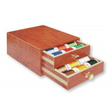 Madeira Mini Treasure Chest Rayon 40 - 30 x 1000m Reels - Teak