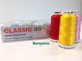 Madeira Rayon Classic 40 - 10 Colour Mini Starter Kit
