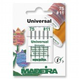 Madeira Sewing Machine Needles - Pack 5 Embroidery Size 75/11