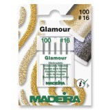 Madeira Sewing Machine Needles - Pack 5 Glamour & Decora Size 110/16