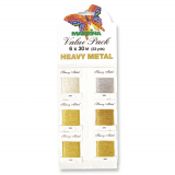 Madeira Value Pack - Heavy Metal Metallic 30 (6 x 30m)