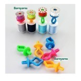 Bobbin Holders - Pack of 12 Assorted Colours
