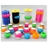 Huggers Thread Spool Wrappers - Pack of 12 Assorted Colours