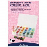 Hemline Embroidery Thread Organiser - Large