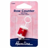 Hemline Row Counter with Ring 2-6mm