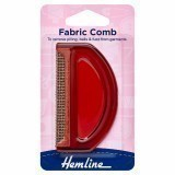 Hemline Fabric Comb Plastic Teeth
