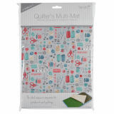 4-in-1 Quilter's Multi Mat. Cutting Mat, Ironing Board, Anti Skid Sheet & Pattern marking Sheet - Stitch In Time