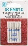 Schmetz Leather Sewing Machine Needles Size 110 - Pack 5
