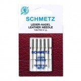 Schmetz Leather Sewing Machine Needles Size 80/12 - Pack 5
