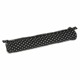HobbyGift Knitting Pin Case (XL) Matt PVC - Black Star