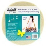 Bosal In R Form Shoulder Strap Cushioning Full Roll 1.5 Inch WIDE x 10 Yards (35mm x 9.2m) White