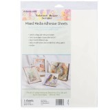 "Rebekah Meier - Mixed Media Adhesive Sheets 9"" x 12"" x 3 sheets per Pack"
