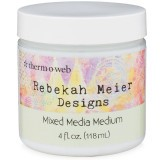 Rebekah Meier - Mixed Media Medium Jar  4 fl oz