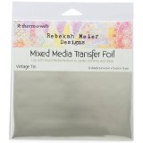 "Rebekah Meier - Transfer Foil Vintage Tin  6"" x 6"" x 12 sheets per Pack"