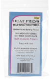Heat Press Batting Tape To hold batting pieces 10yds x 3/4 inch (9m x 19mm)
