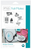 "Gina K Designs Foil-Mates Birthday Essentials 5.5"" x 8.5"""