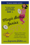 Little Genie Magic Bobbin Washers pack 12