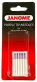 Janome Purple Tip Needle - Size 90 (14) - Genuine Part