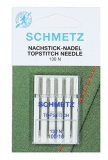 Schmetz Topstitch Sewing Machine Needles Size 100/16 - Pack 5