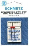 Schmetz Twin Needle Size 100/16 6.0mm Gap (Pack 1)
