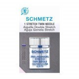 Schmetz Twin Needle Size 75/11 2.5mm Gap (Pack 1)