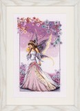 Counted Cross Stitch Kit - Purple Fairy