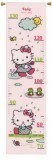 Counted Cross Stitch Height Chart: Hello Kitty: Rainy days