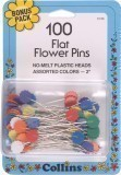 Flowe Head Pins Box100