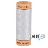 Col.2600 Aurifil 80 274m Light Grey