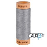 Col.2605 Aurifil 80 274m Medium Grey