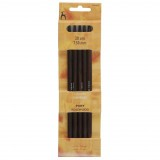 Pony Double Ended Knitting Pins Set of Five Rosewood 20cm x 7.5mm