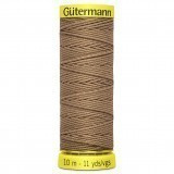 Col.1028 Gutermann Elastic 10m Brown