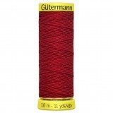 Col.2063 Gutermann Elastic 10m Red