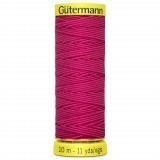 Col.3055 Gutermann Elastic 10m Hot Pink