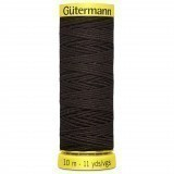 Col.4002 Gutermann Elastic 10m Brown