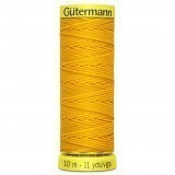 Col.4009 Gutermann Elastic 10m Yellow