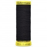 Col.5262 Gutermann Elastic 10m Navy Blue