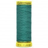 Col.7844 Gutermann Elastic 10m Sea Green