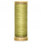 Col.0248 Gutermann Cotton 100m Dusty Yellow